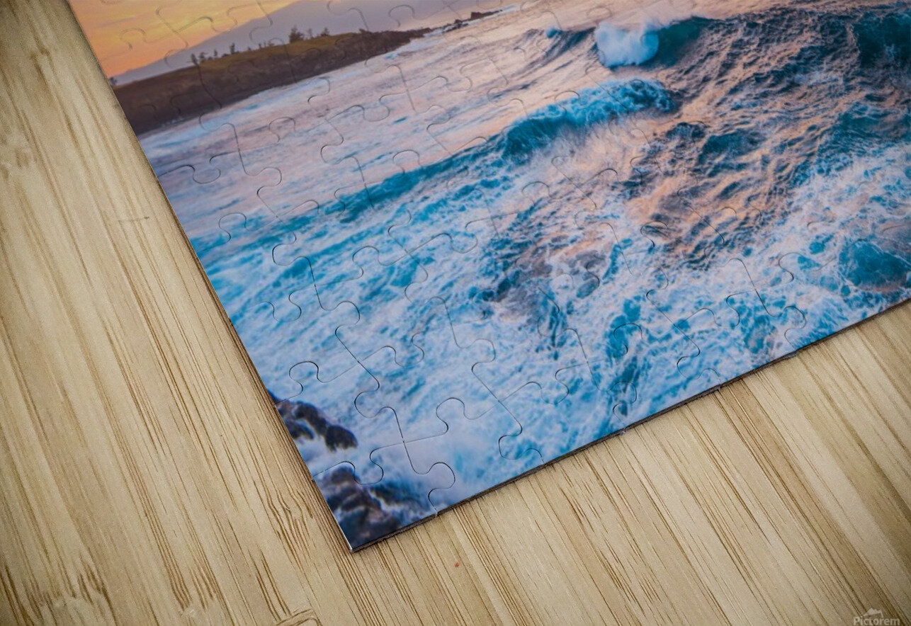 Easy Evening HD Sublimation Metal print