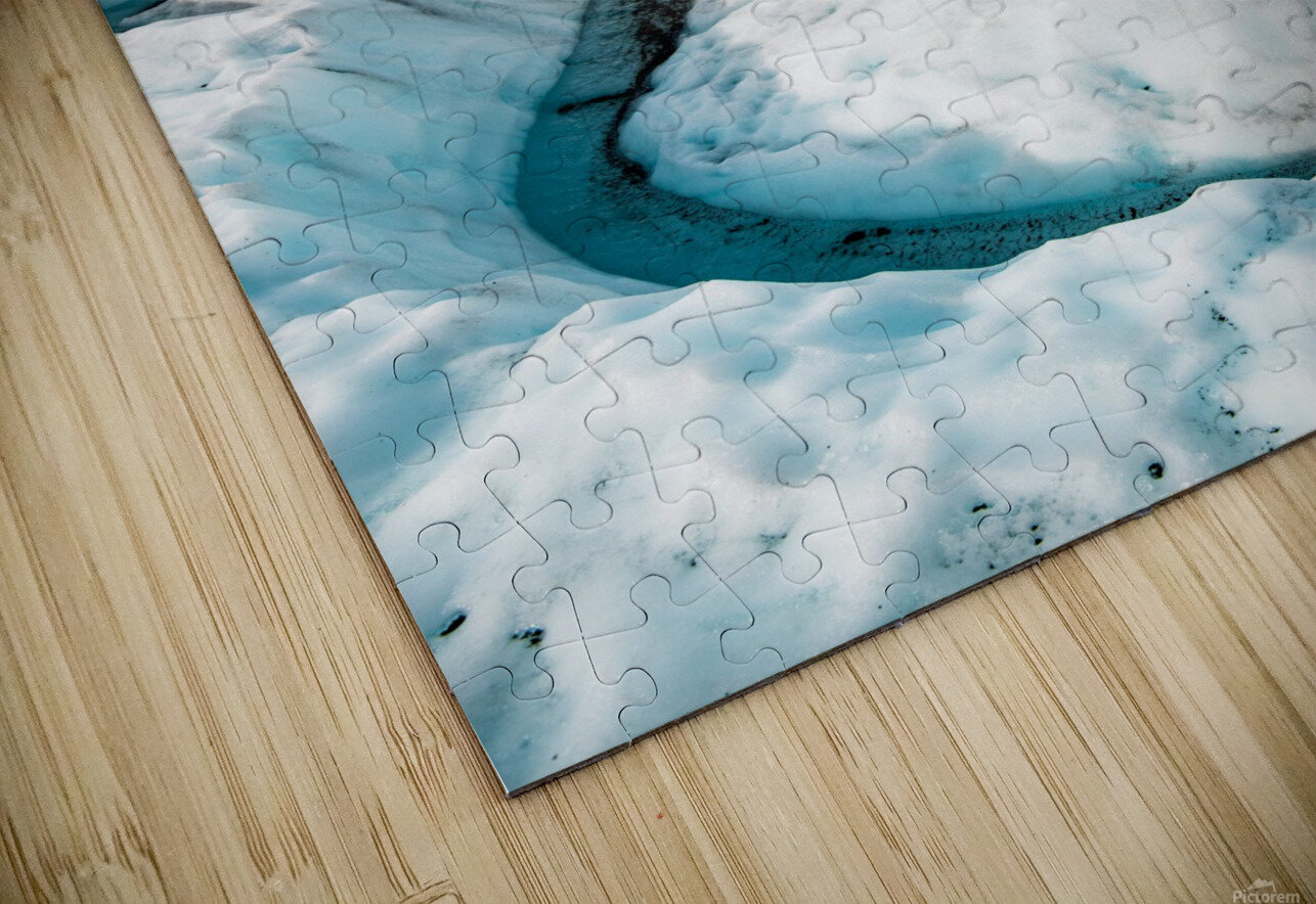 Cold Journey HD Sublimation Metal print