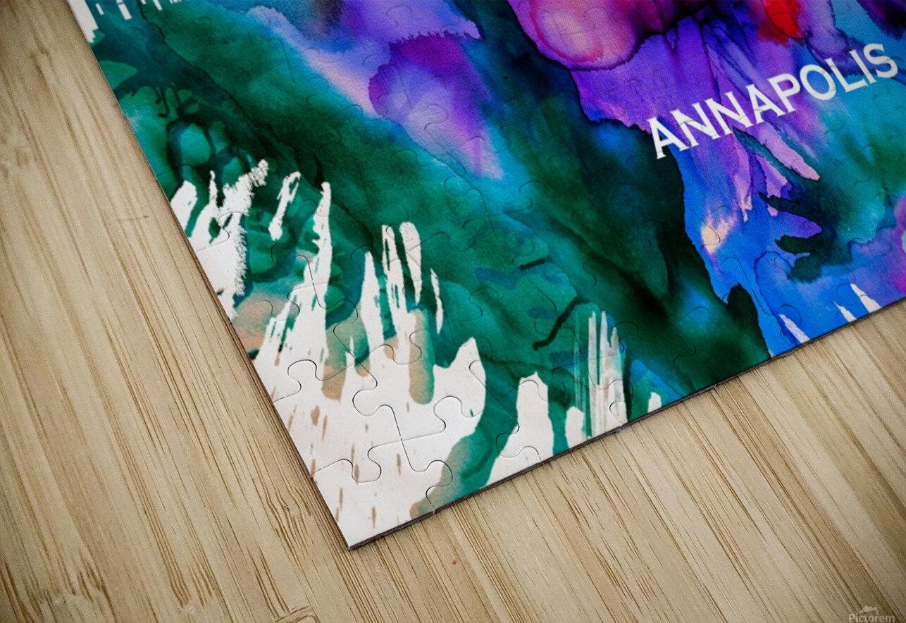 Annapolis Skyline HD Sublimation Metal print