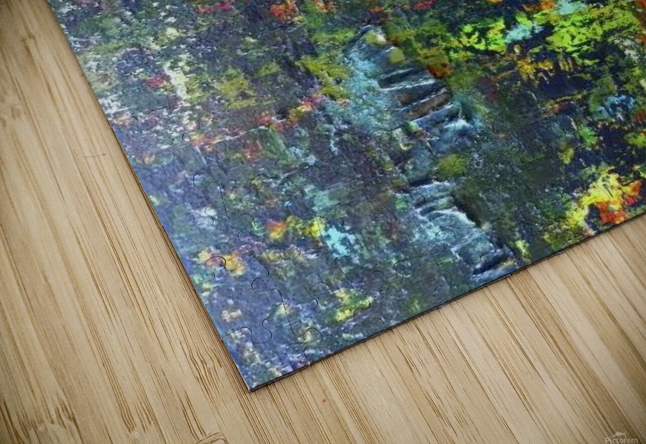 """ENchanted Forest"" HD Sublimation Metal print"