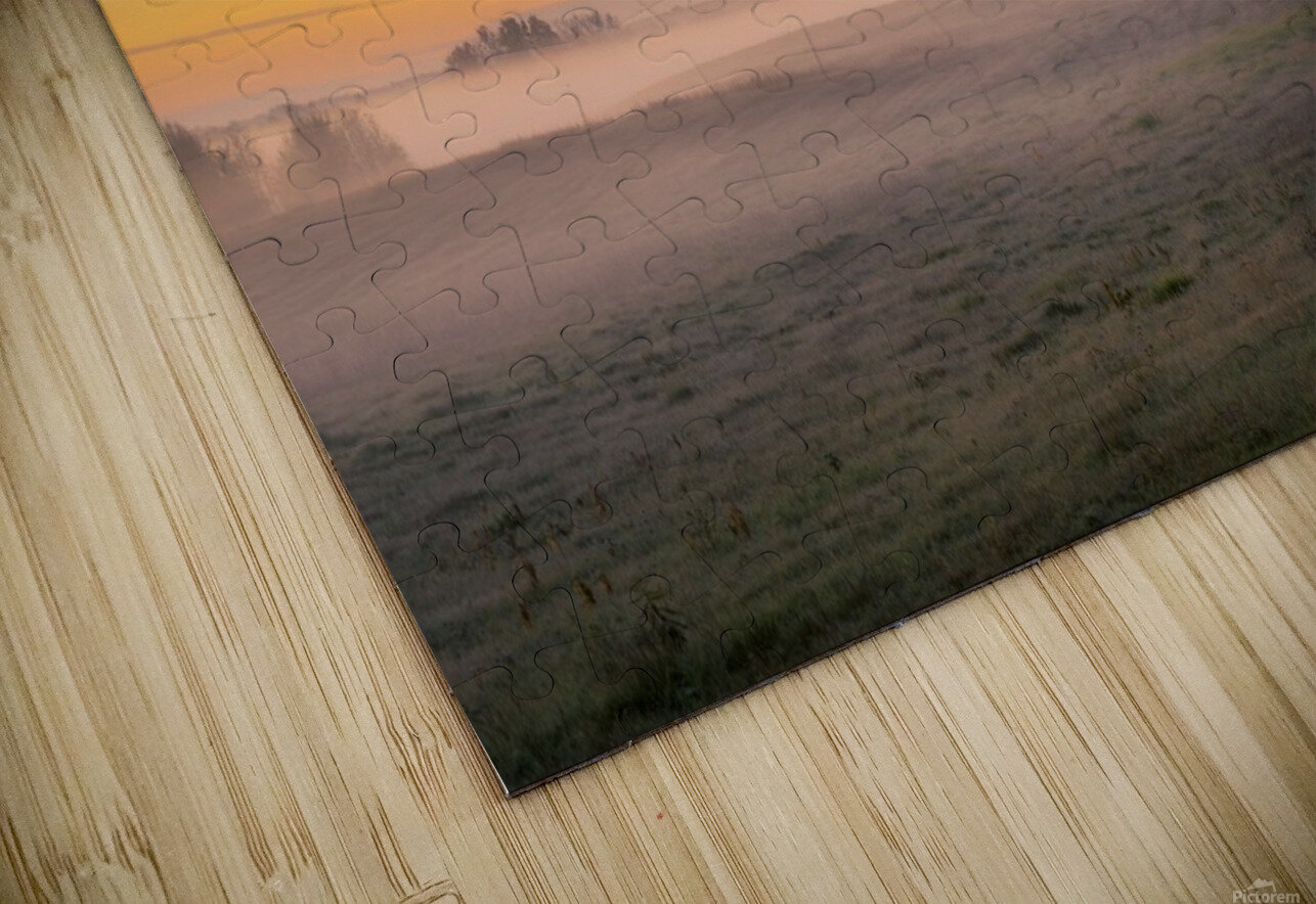 Moring Fog HD Sublimation Metal print
