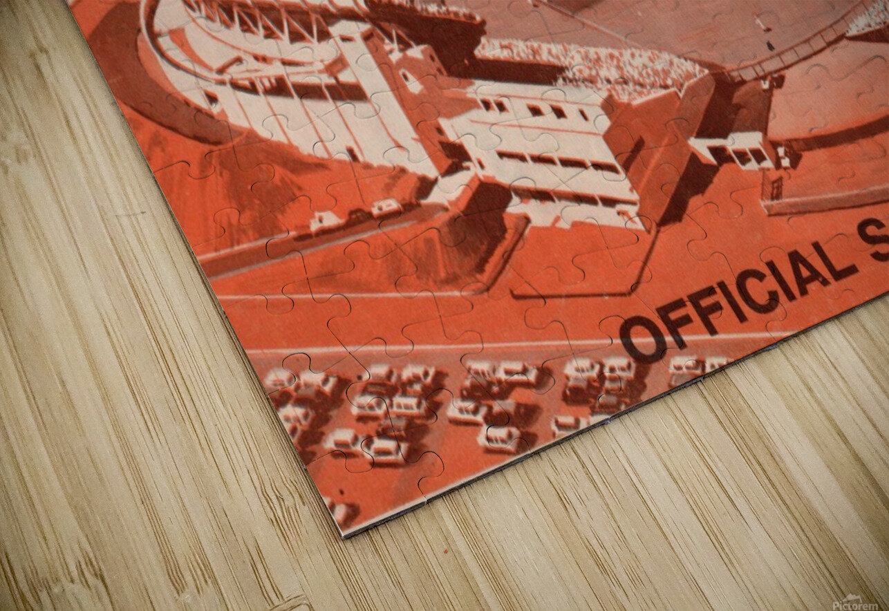 1960 San Francisco Giants HD Sublimation Metal print