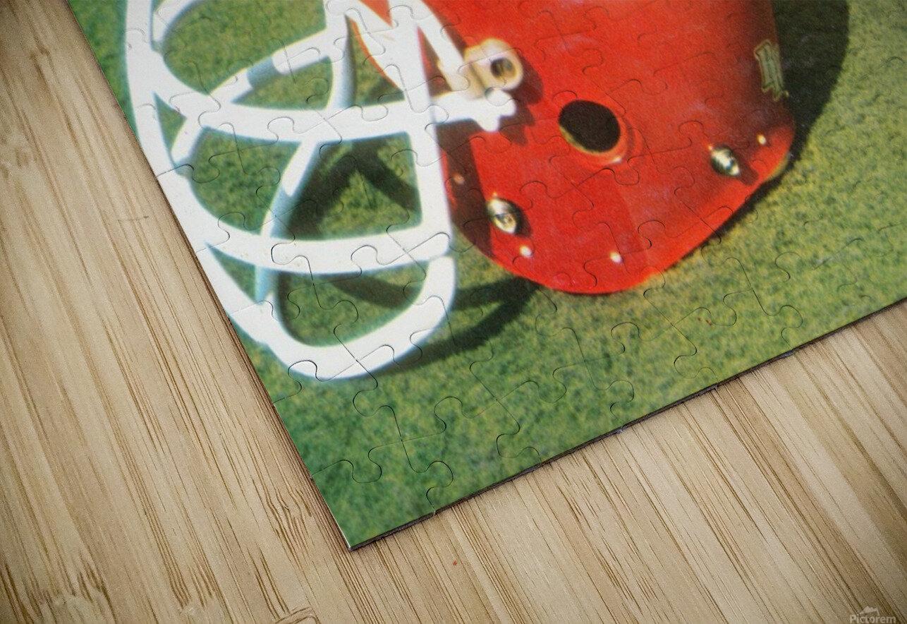 1978 Oklahoma Sooners OSU Cowboys Football Helmet Art  HD Sublimation Metal print