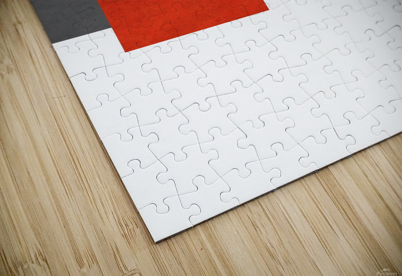 Shapes 03 - Abstract Geometric Art Print HD Sublimation Metal print