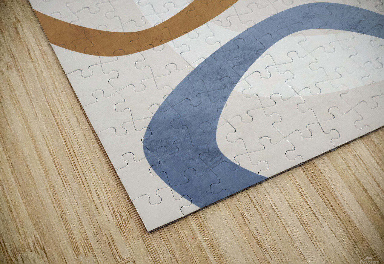 Shapes 08 - Abstract Geometric Art Print HD Sublimation Metal print