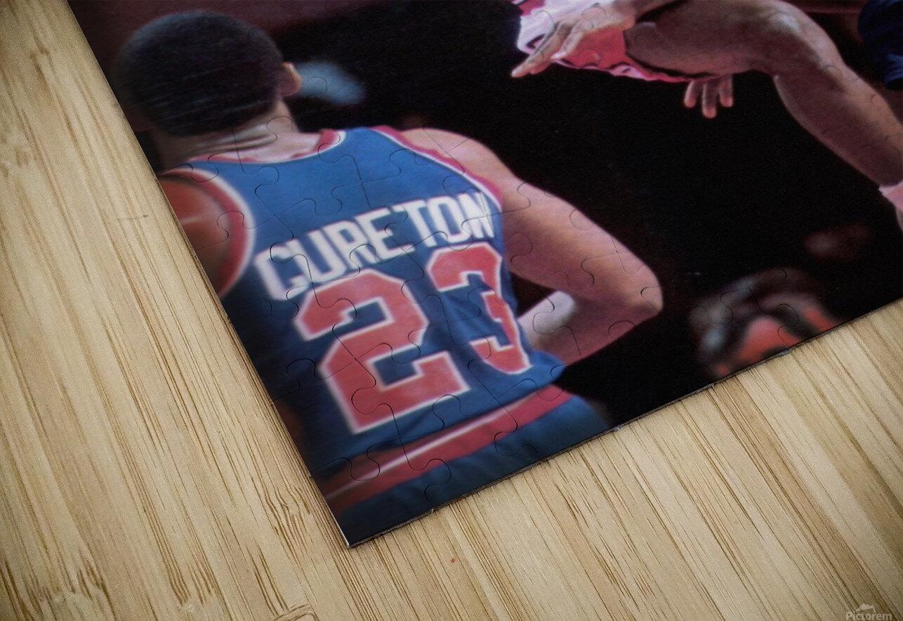 1985 Rising Star Michael Jordan Print  HD Sublimation Metal print
