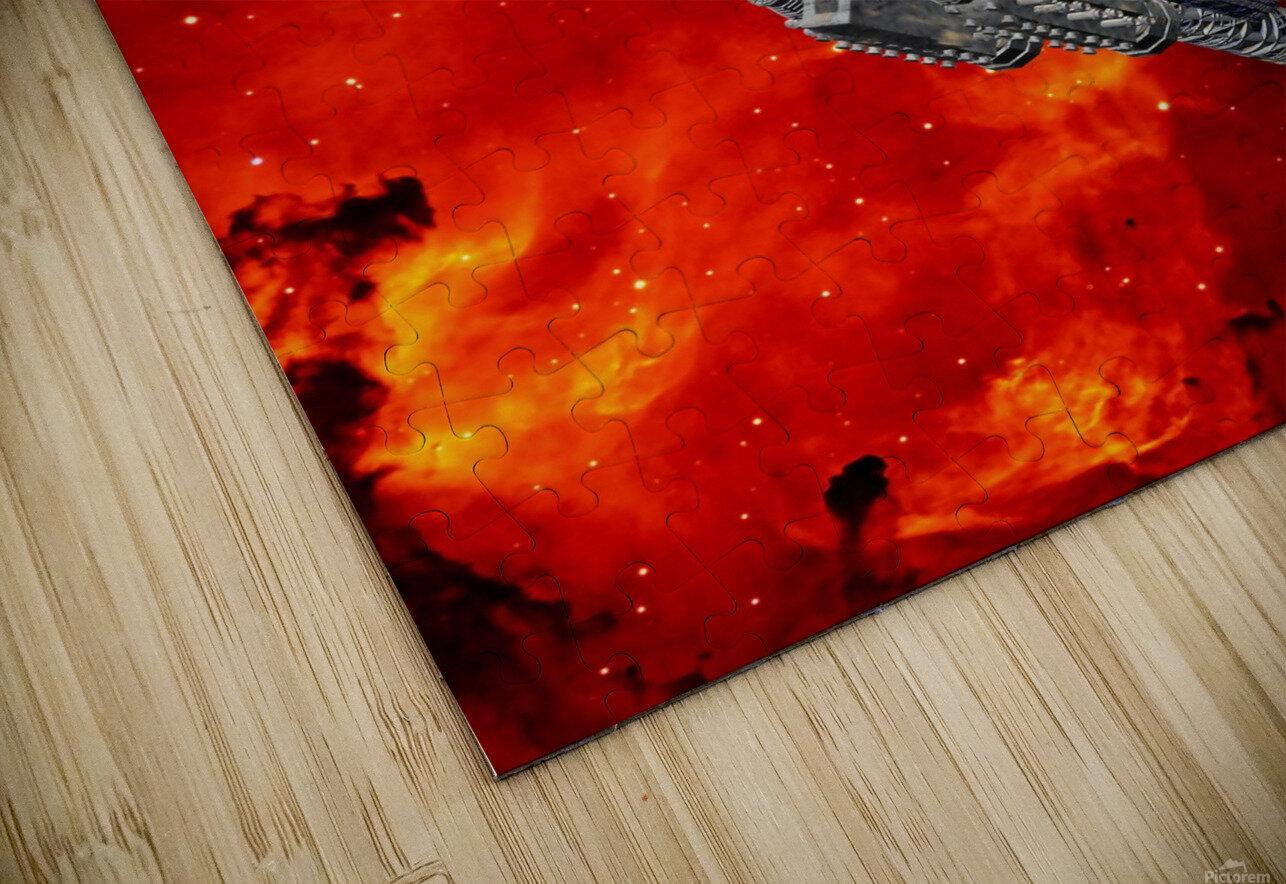 Journey to explore Mars HD Sublimation Metal print