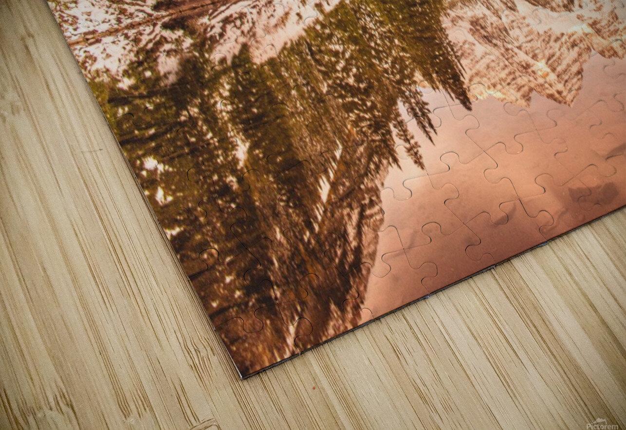 Maroon Bells Fall HD Sublimation Metal print