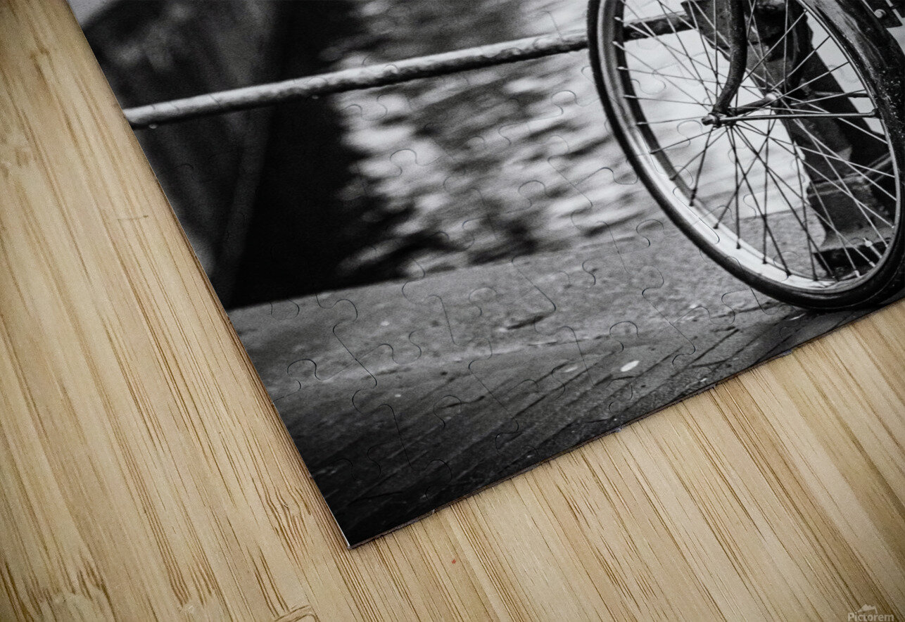 Amsterdam in a raining day HD Sublimation Metal print