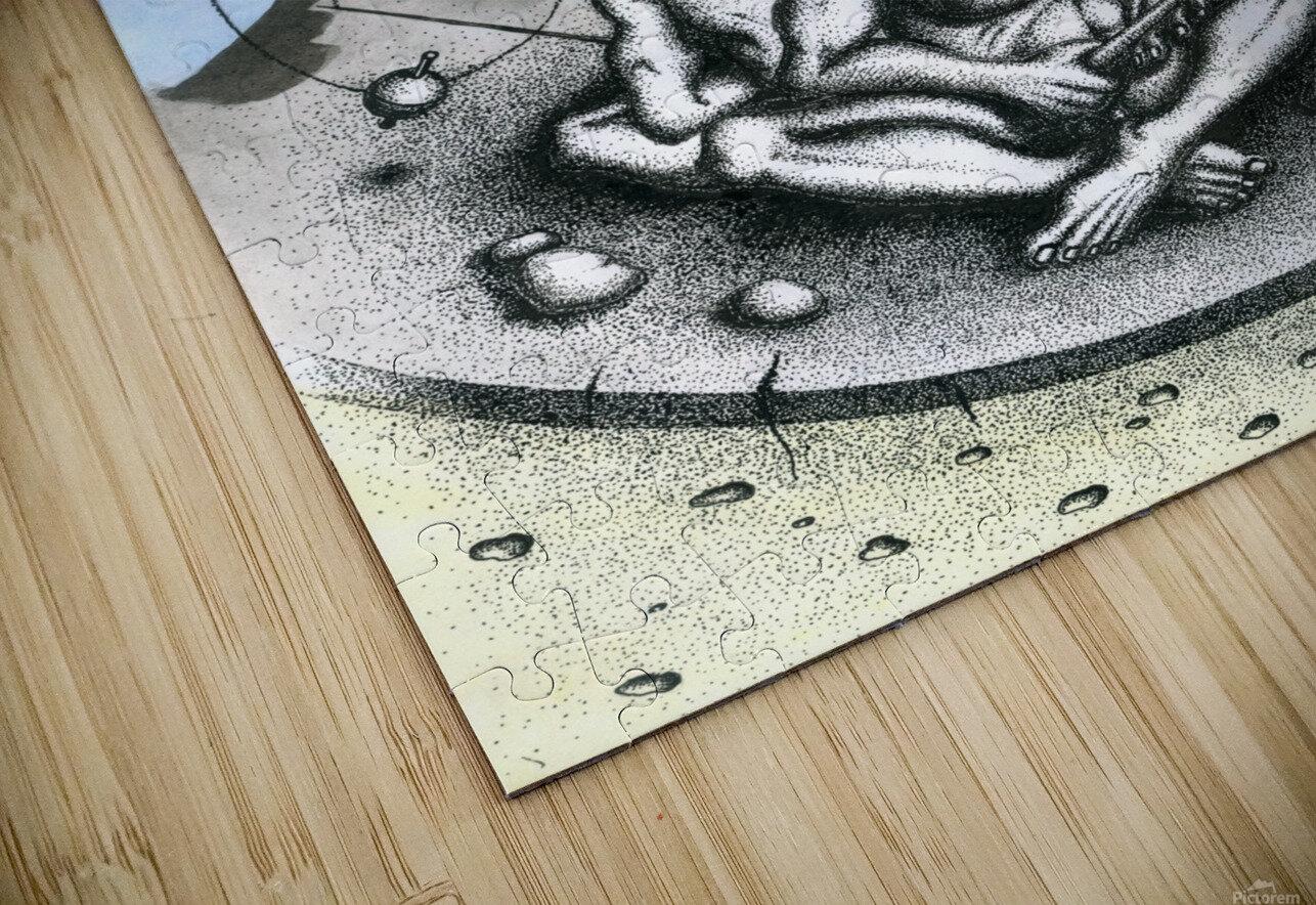Fish_places HD Sublimation Metal print