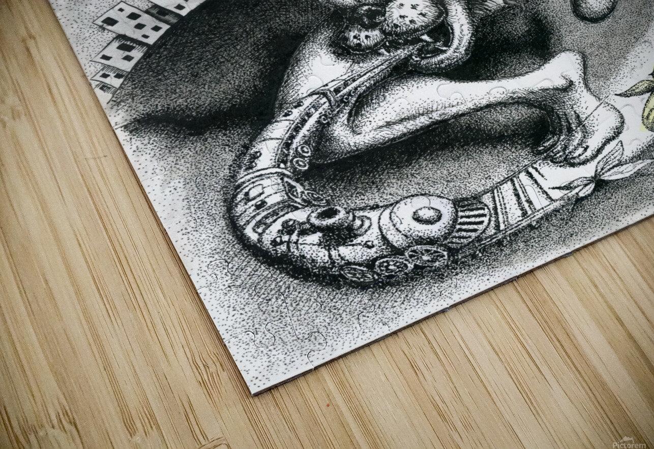 Madness_of_Major_Privalov HD Sublimation Metal print