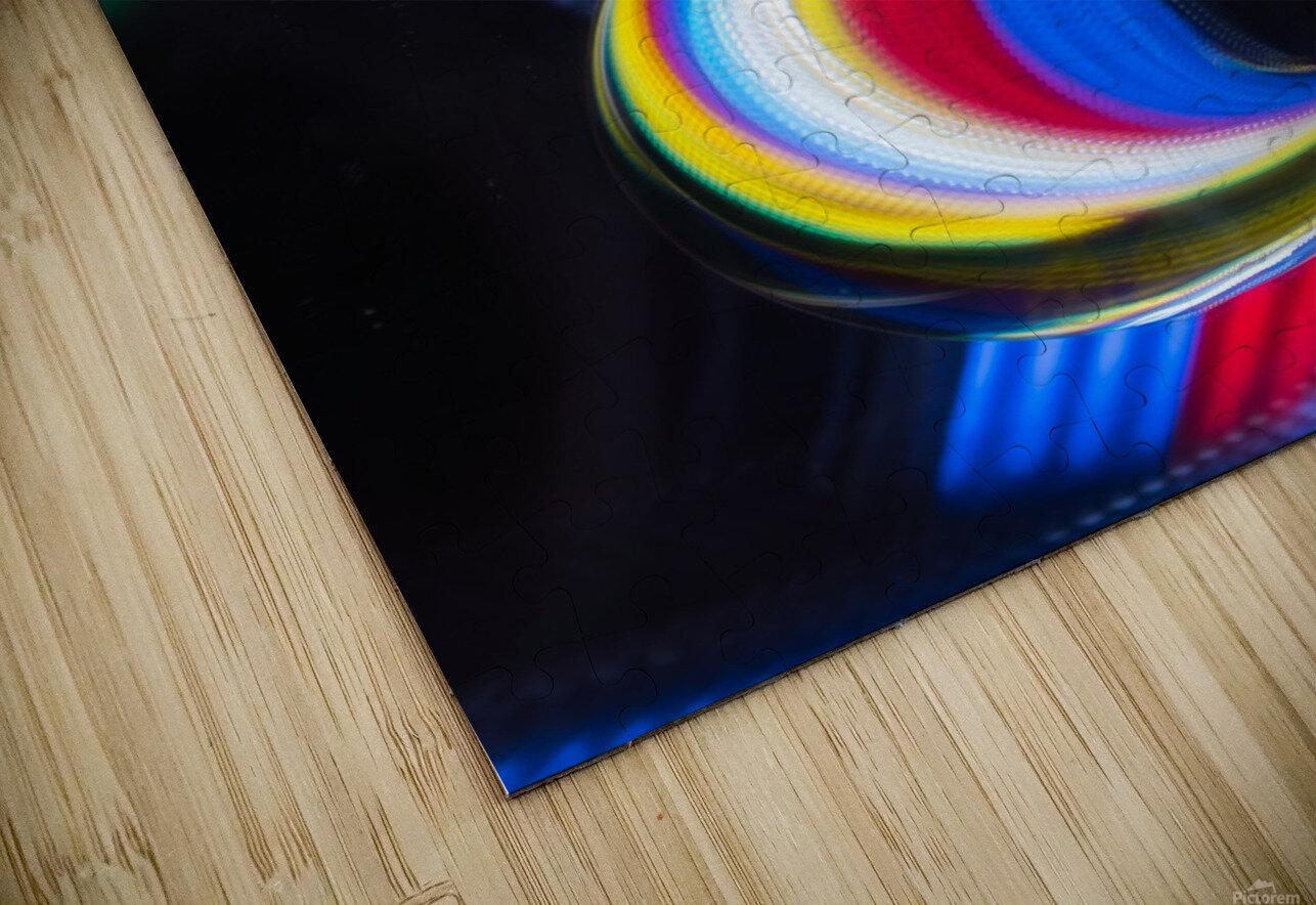 Lens ball HD Sublimation Metal print