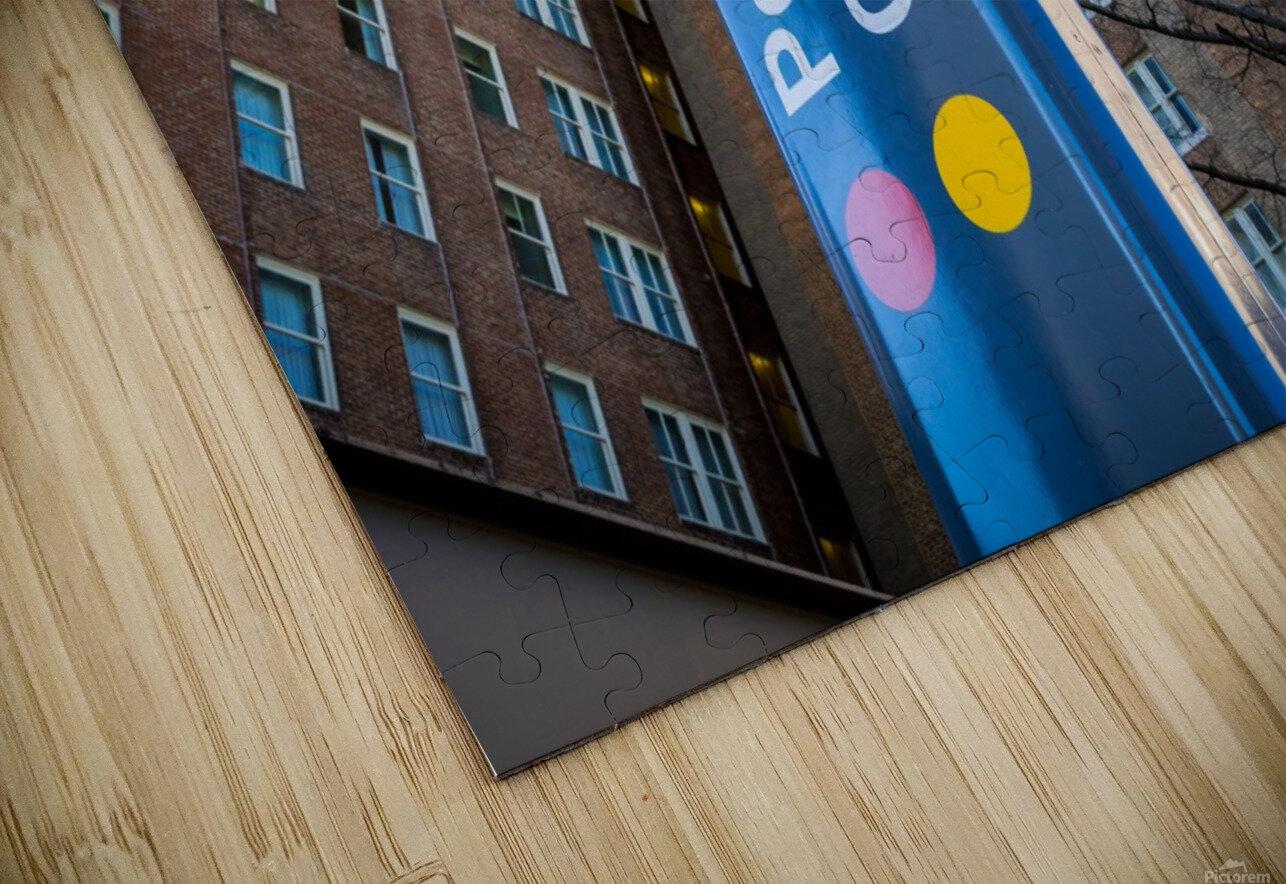 Marta Peachtree Center Sign   Atlanta GA 1823 HD Sublimation Metal print