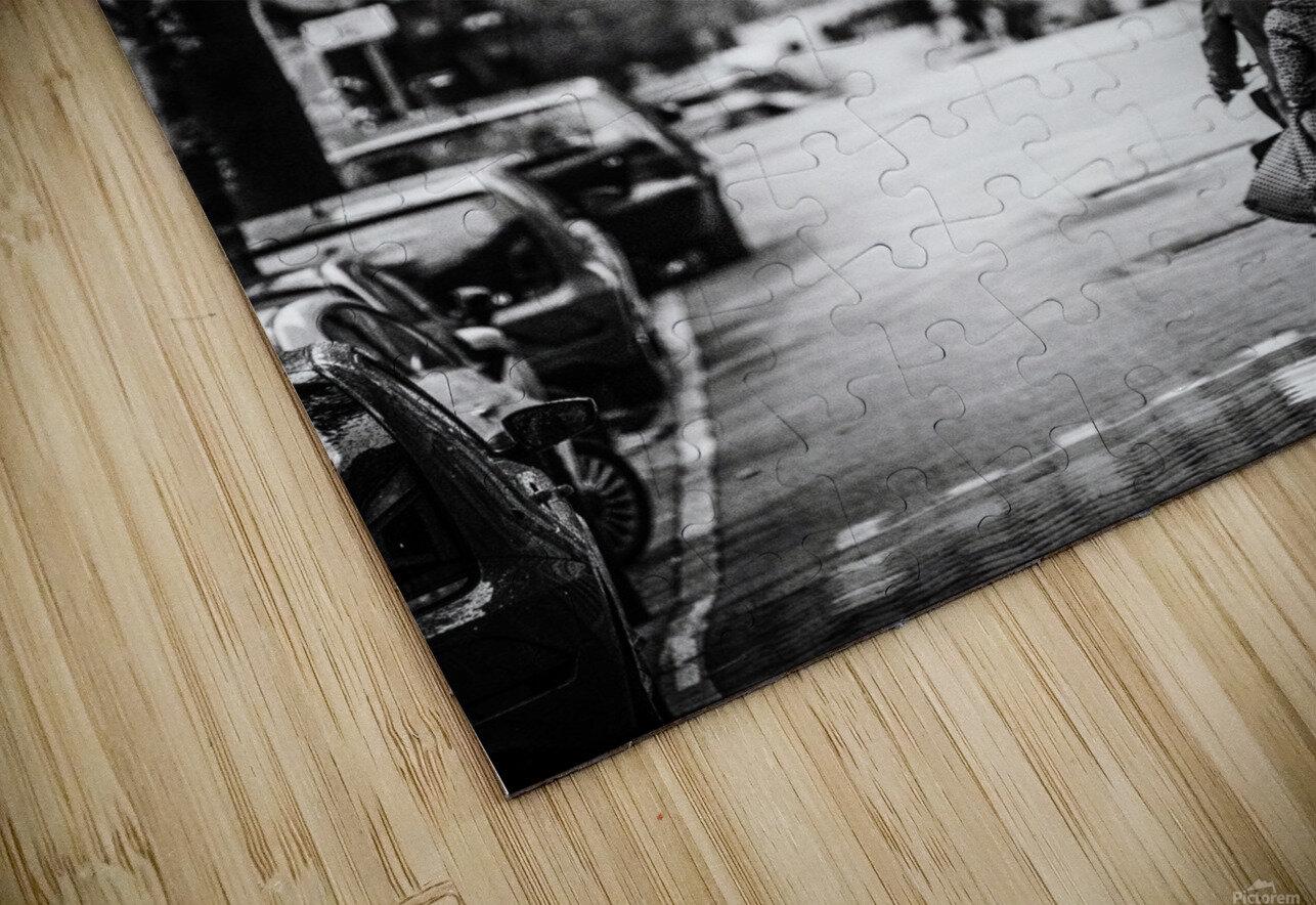 Raining in Amsterdam HD Sublimation Metal print