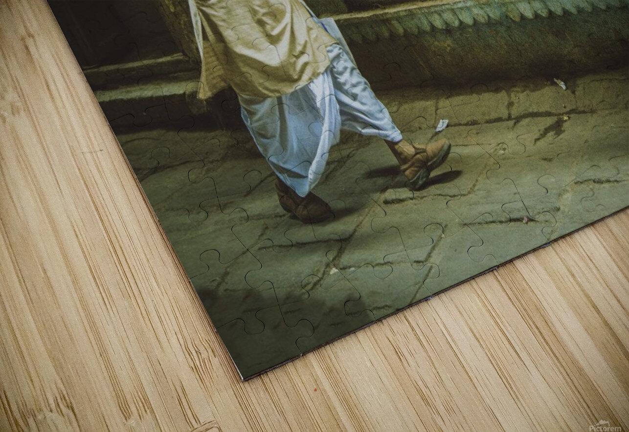 Varanasi Window - The Spy HD Sublimation Metal print