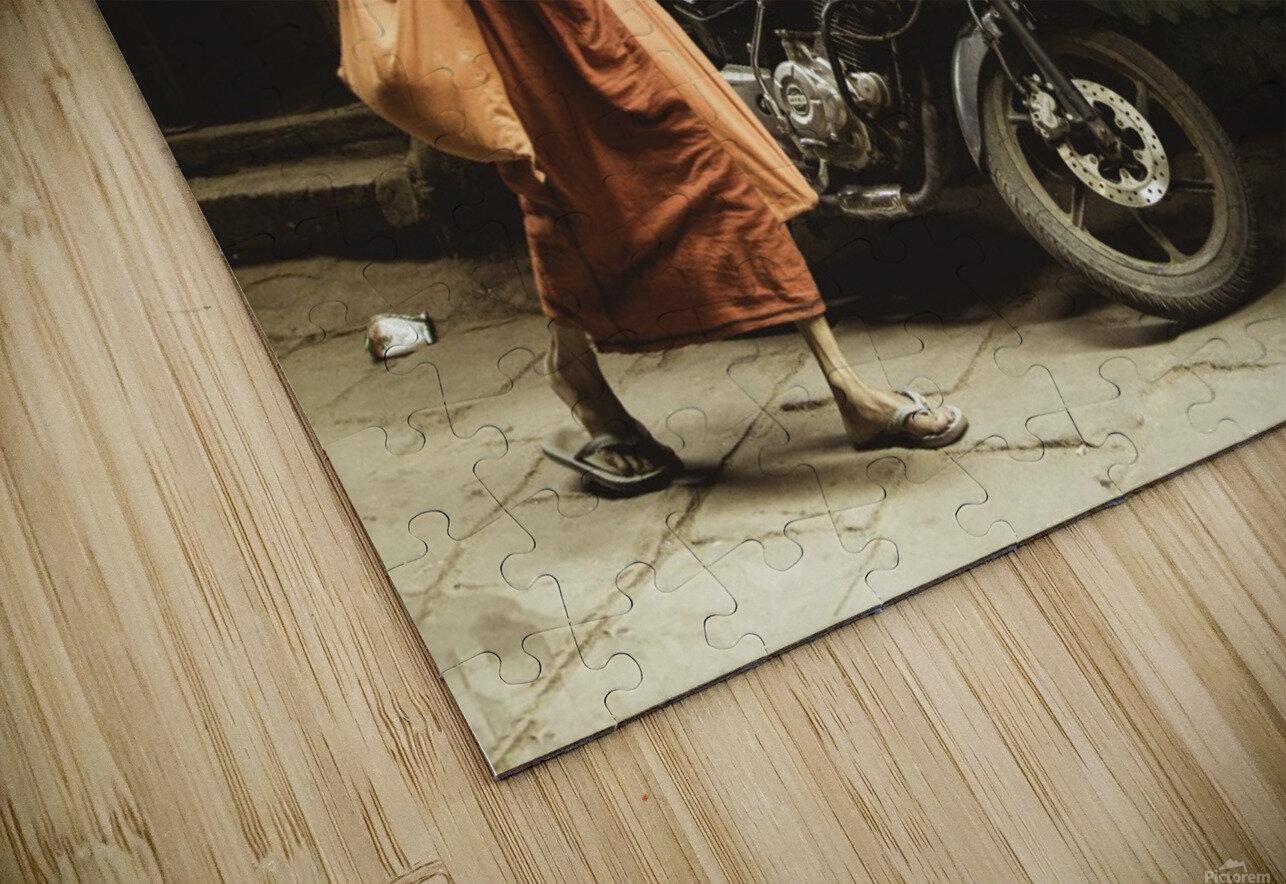 Varanasi Window - Pilgrim HD Sublimation Metal print