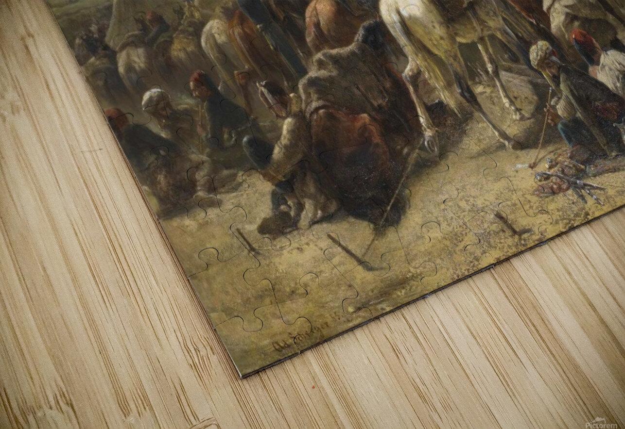 An Ottoman encampment HD Sublimation Metal print