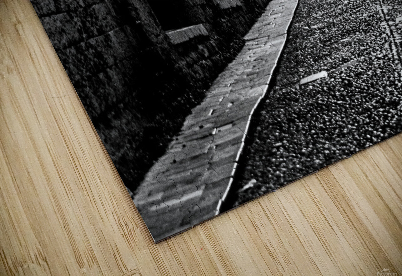 Street of the Nights HD Sublimation Metal print