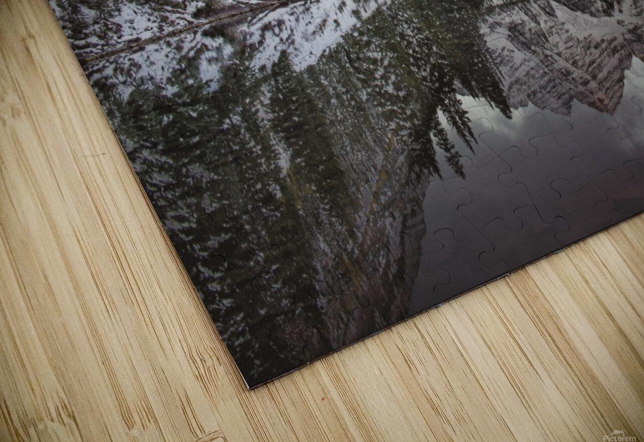 Maroon Bells full color HD Sublimation Metal print