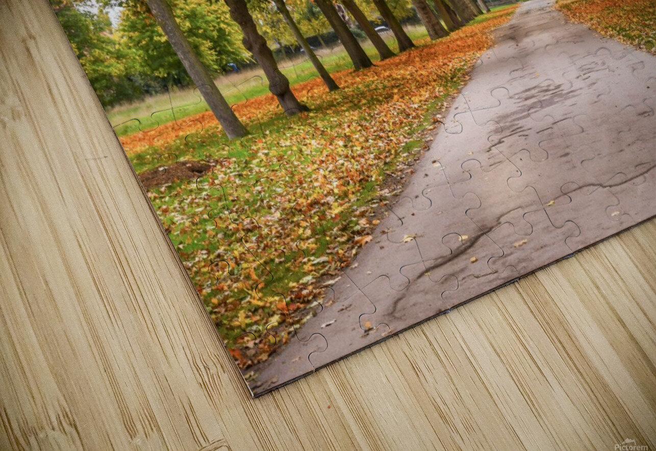 Autumn colours HD Sublimation Metal print