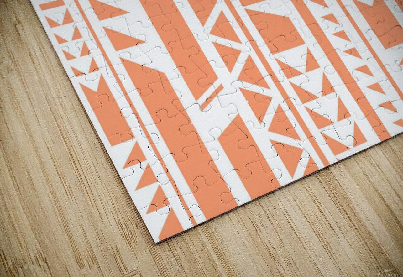 tribal pattern HD Sublimation Metal print