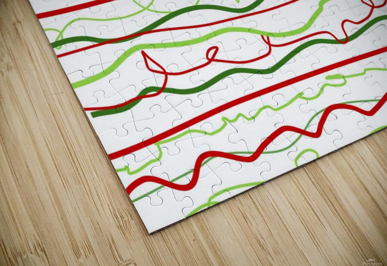 scribble pattern HD Sublimation Metal print