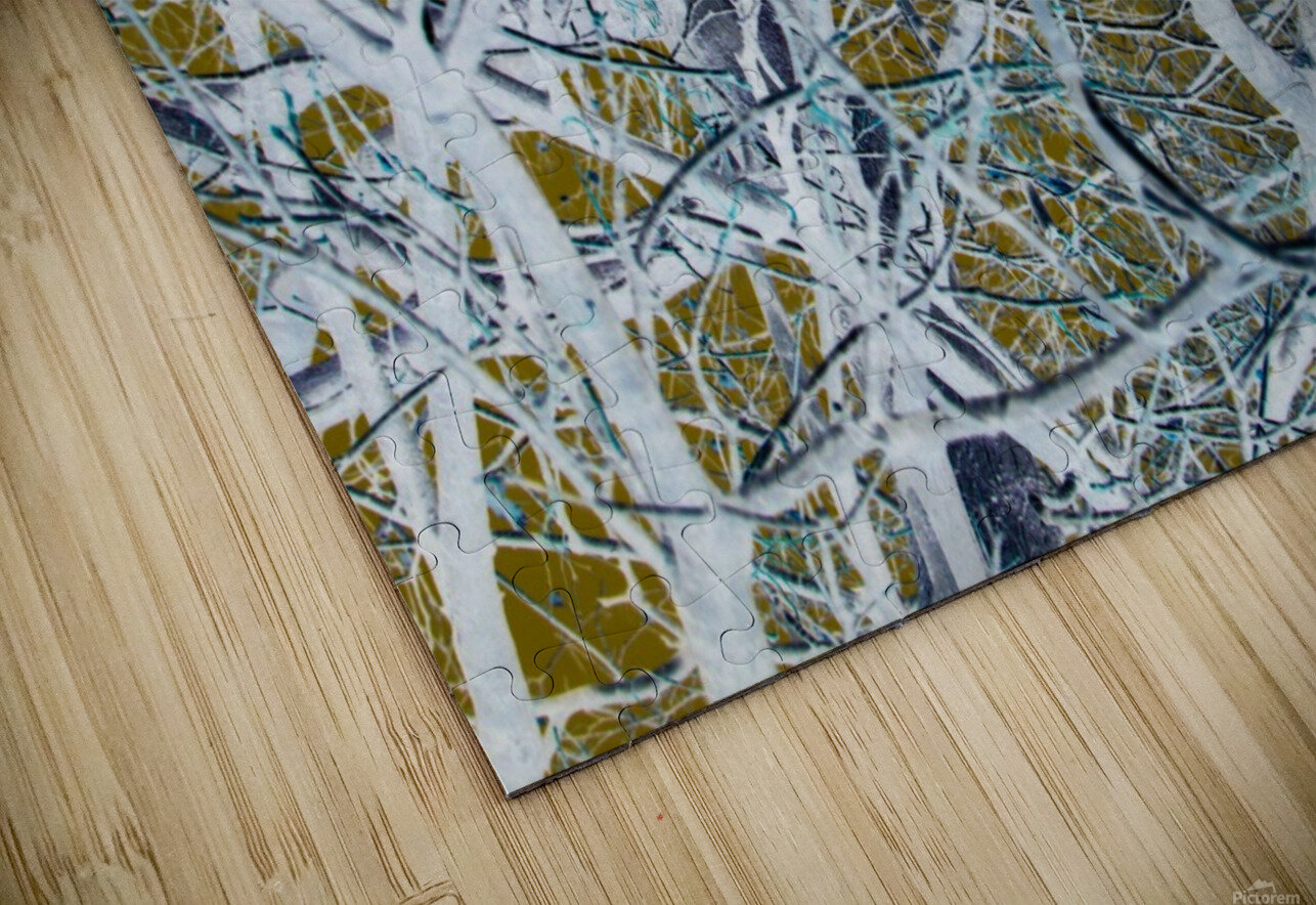 Funky Branches HD Sublimation Metal print