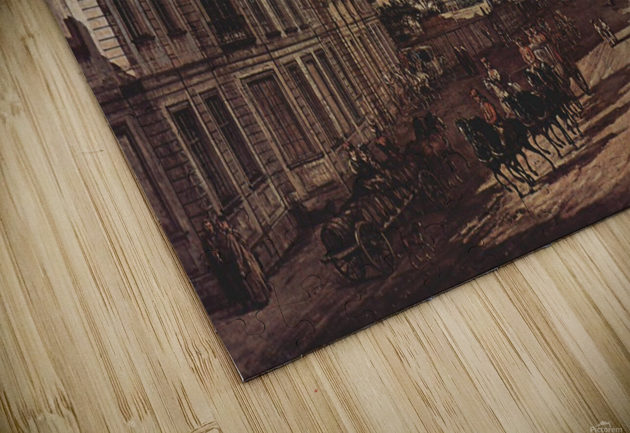 Royal castle HD Sublimation Metal print