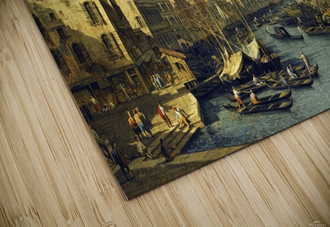 Venice - The Grand Canal HD Sublimation Metal print