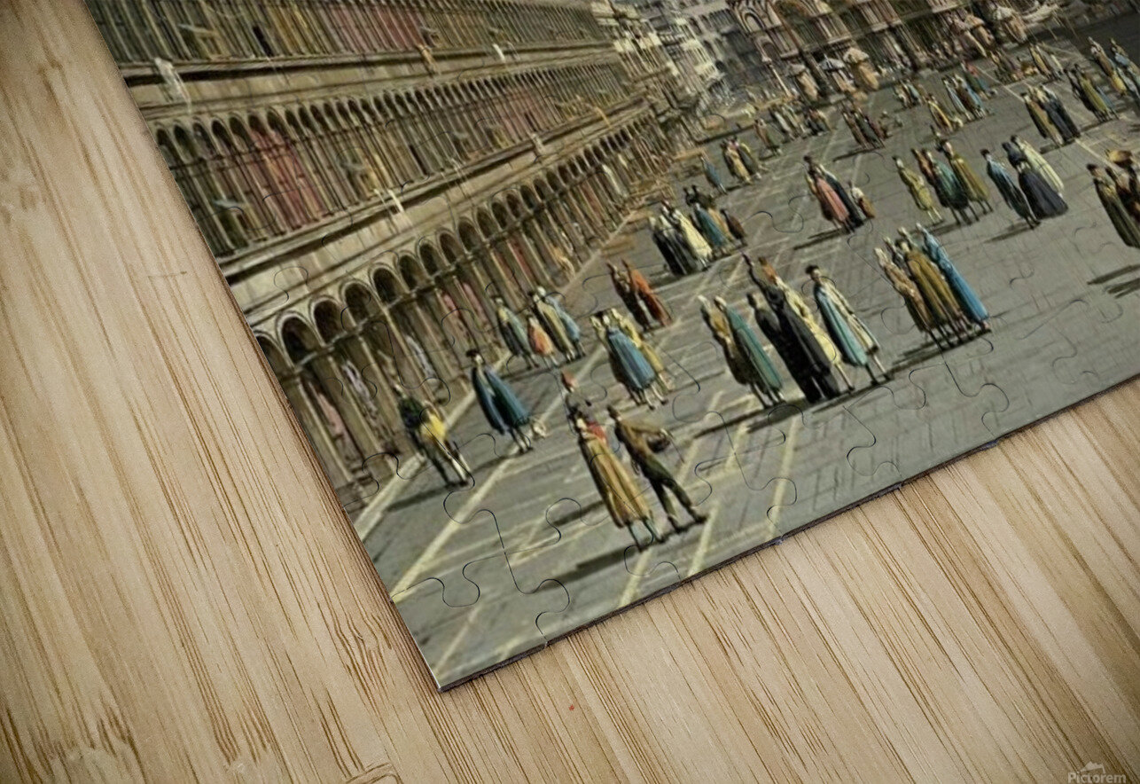 Piazza San Marco HD Sublimation Metal print