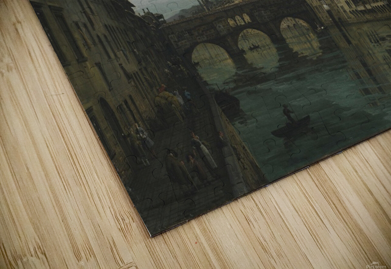 City of Florence HD Sublimation Metal print