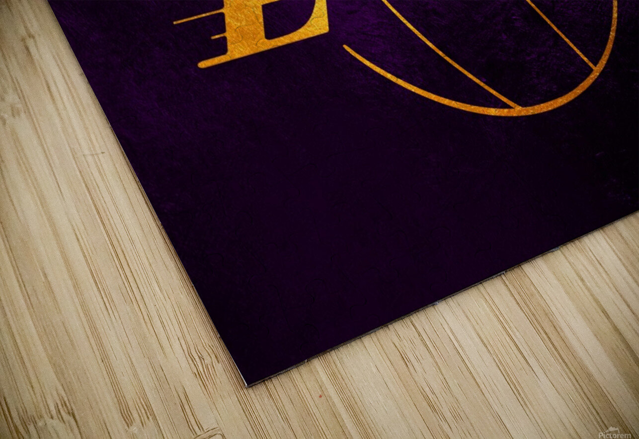 Lakers HD Sublimation Metal print