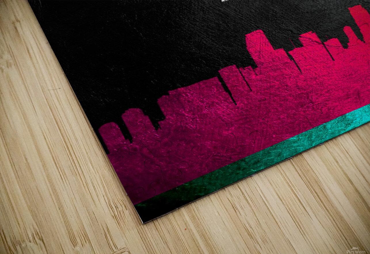 Miami Heat Vice 2 HD Sublimation Metal print
