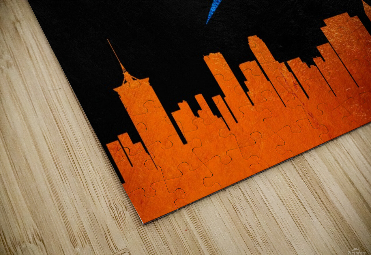 Oklahoma City Thunder HD Sublimation Metal print