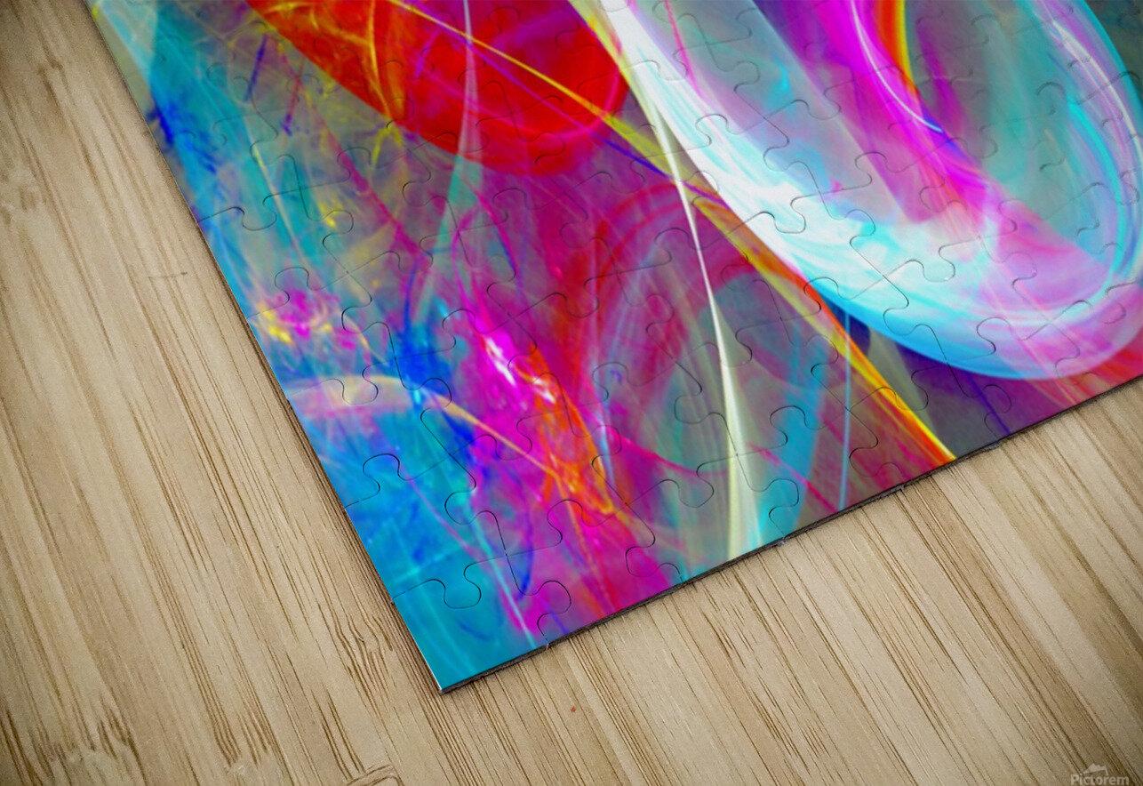 SWIRLS 1B HD Sublimation Metal print