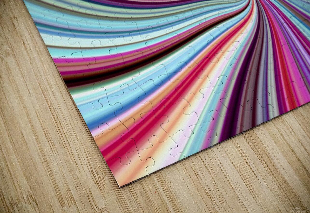 WHIRLWIND 2C HD Sublimation Metal print