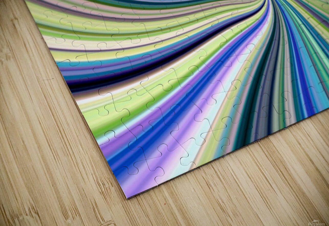WHIRLWIND 2D HD Sublimation Metal print
