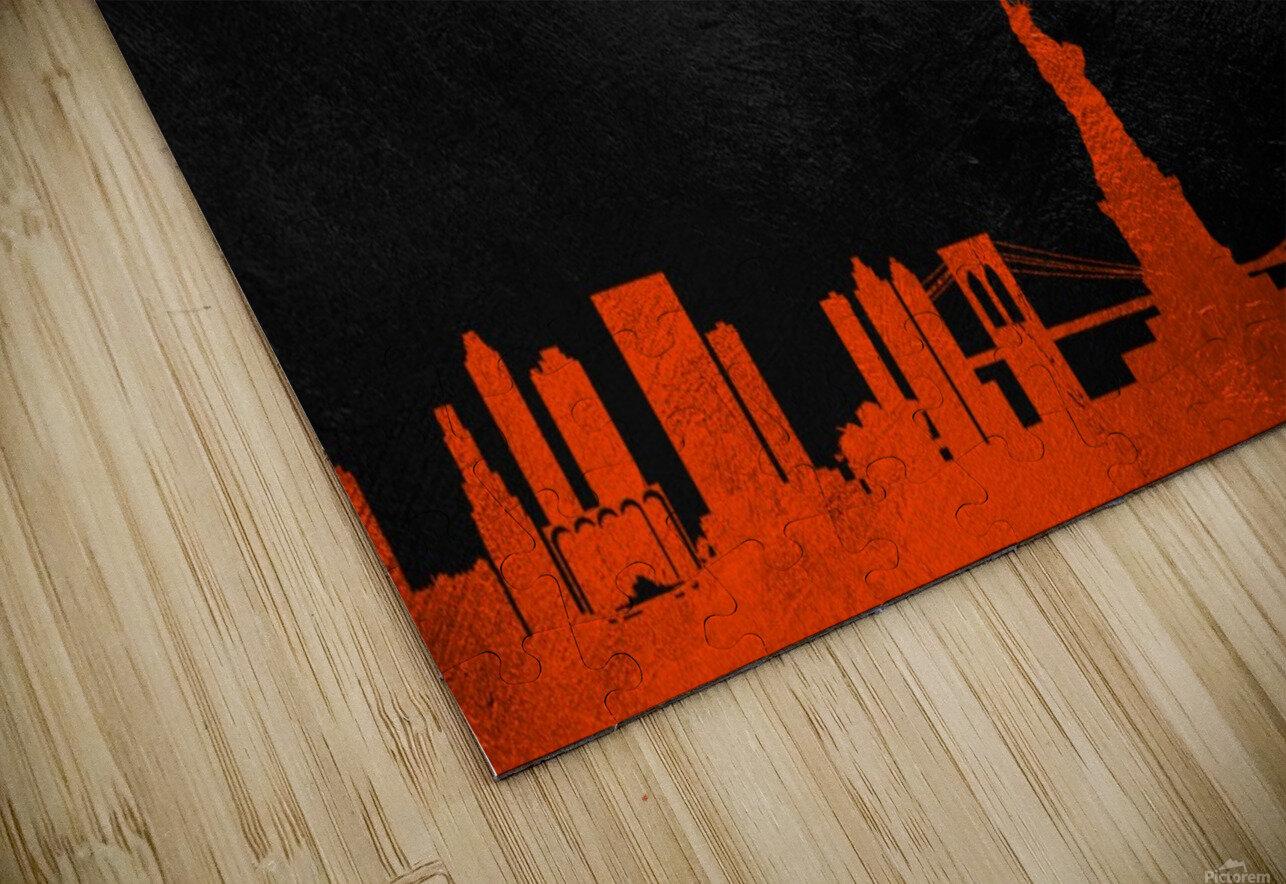 New Jersey Islanders HD Sublimation Metal print