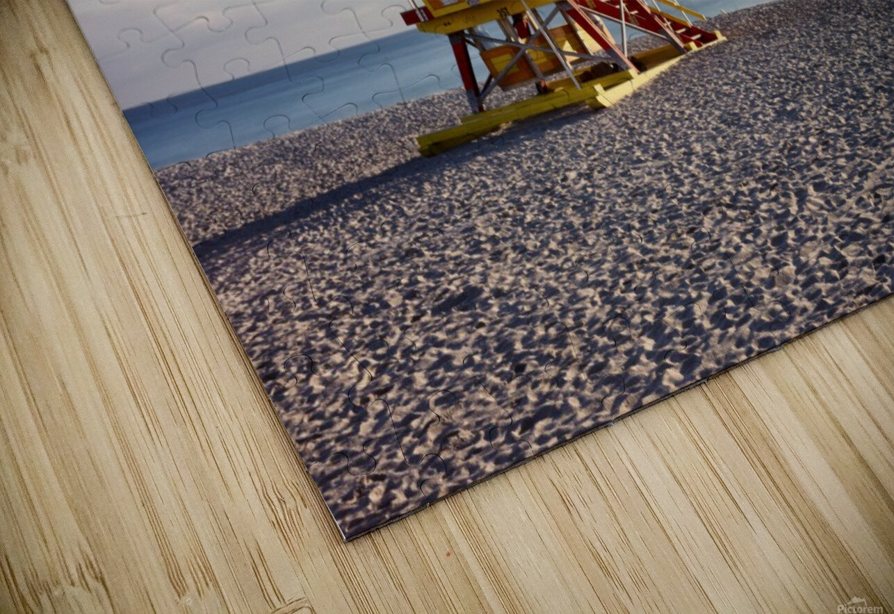 Miami Beach 058 HD Sublimation Metal print