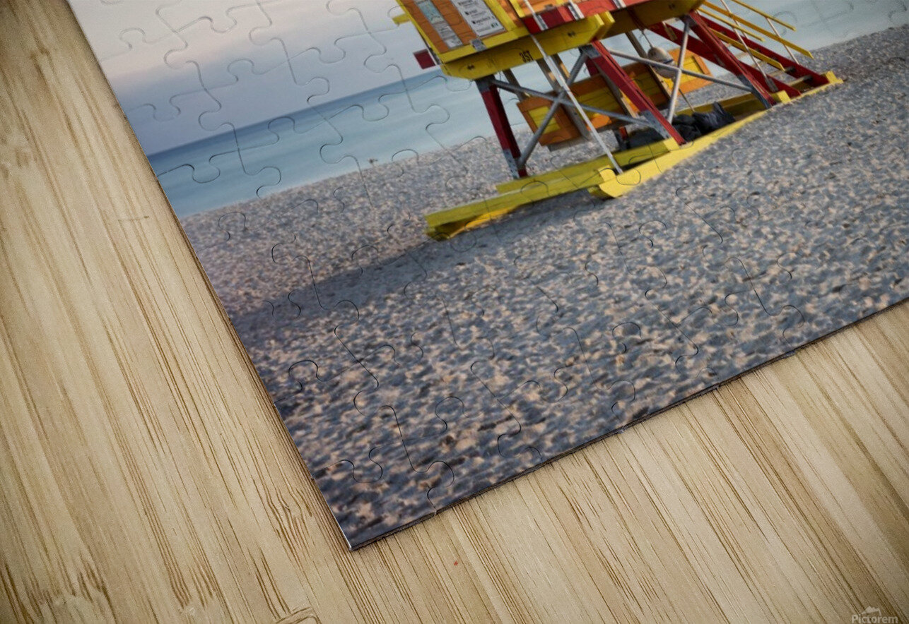 Miami Beach 0280 HD Sublimation Metal print