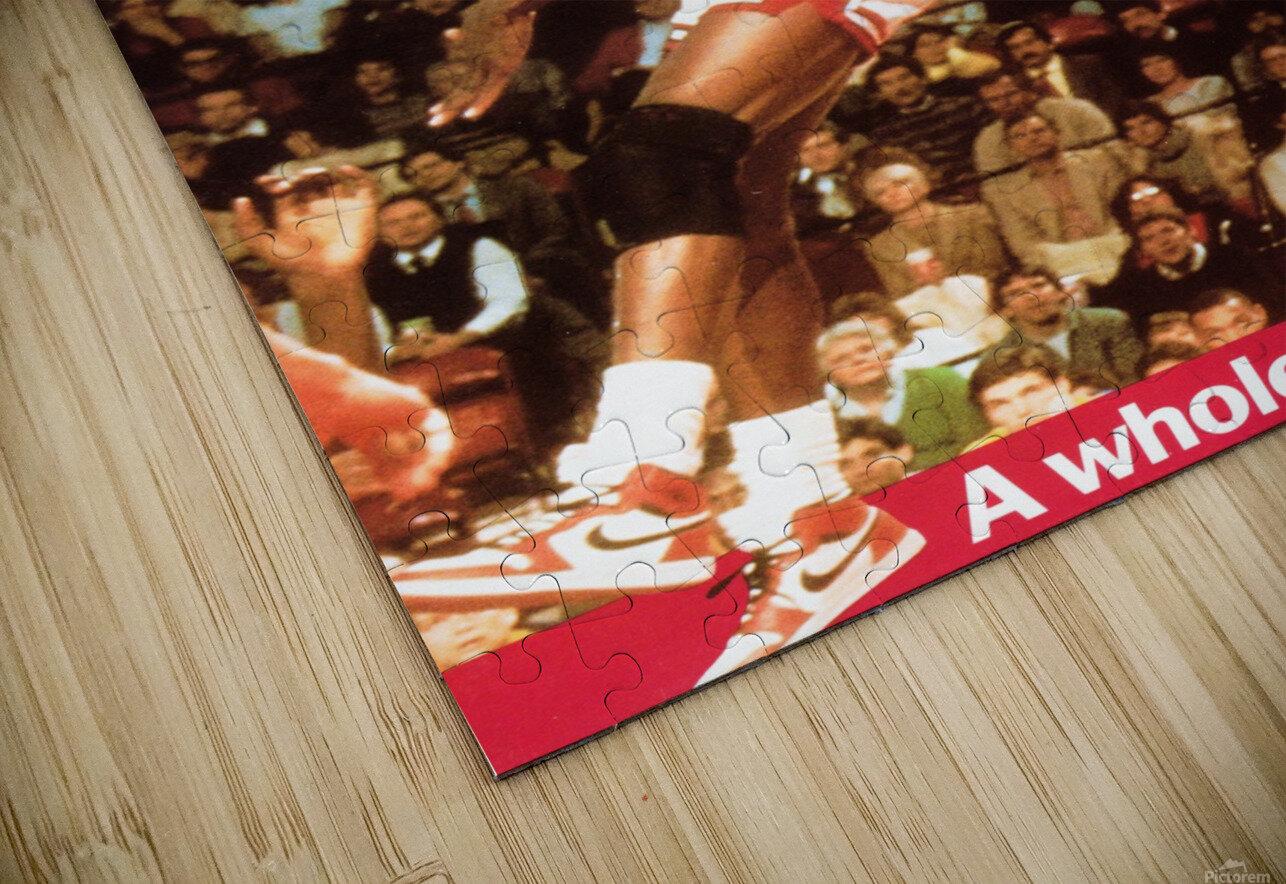 1985 Michael Jordan Dunk HD Sublimation Metal print