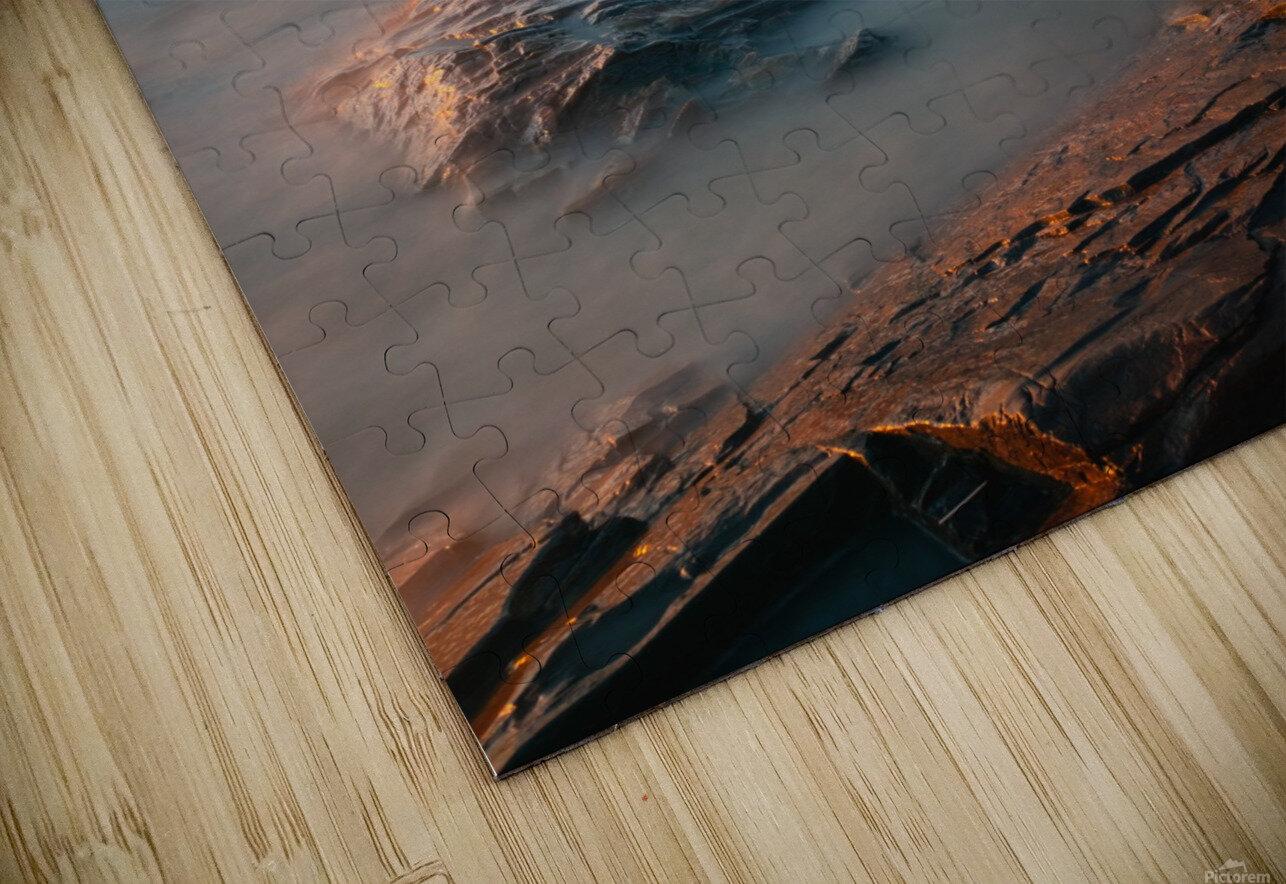 Lanse rocheuse Impression de sublimation métal HD