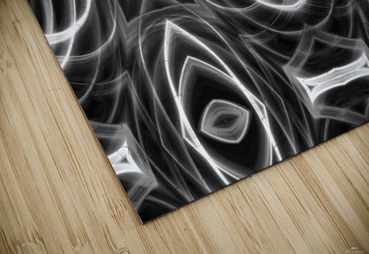 Monochrome HD Sublimation Metal print