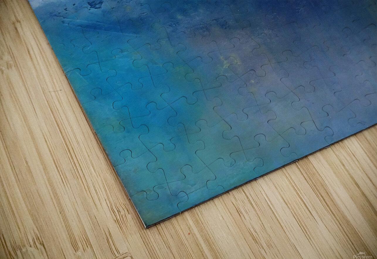 No Surrender Blue III HD Sublimation Metal print