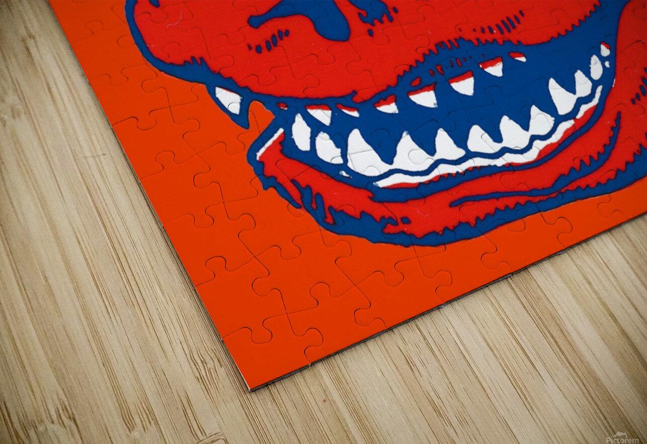 Vintage Florida Gators Wall Art HD Sublimation Metal print