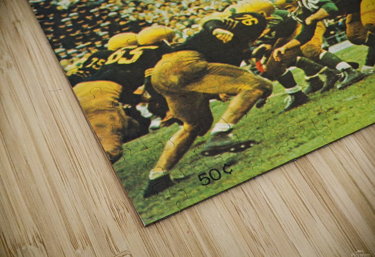 1960 notre dame football HD Sublimation Metal print
