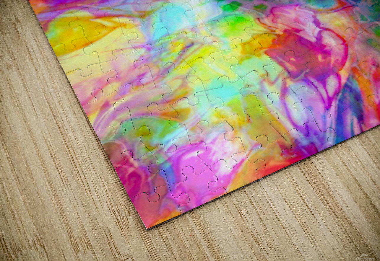 TRANSPARENCIES 4 HD Sublimation Metal print