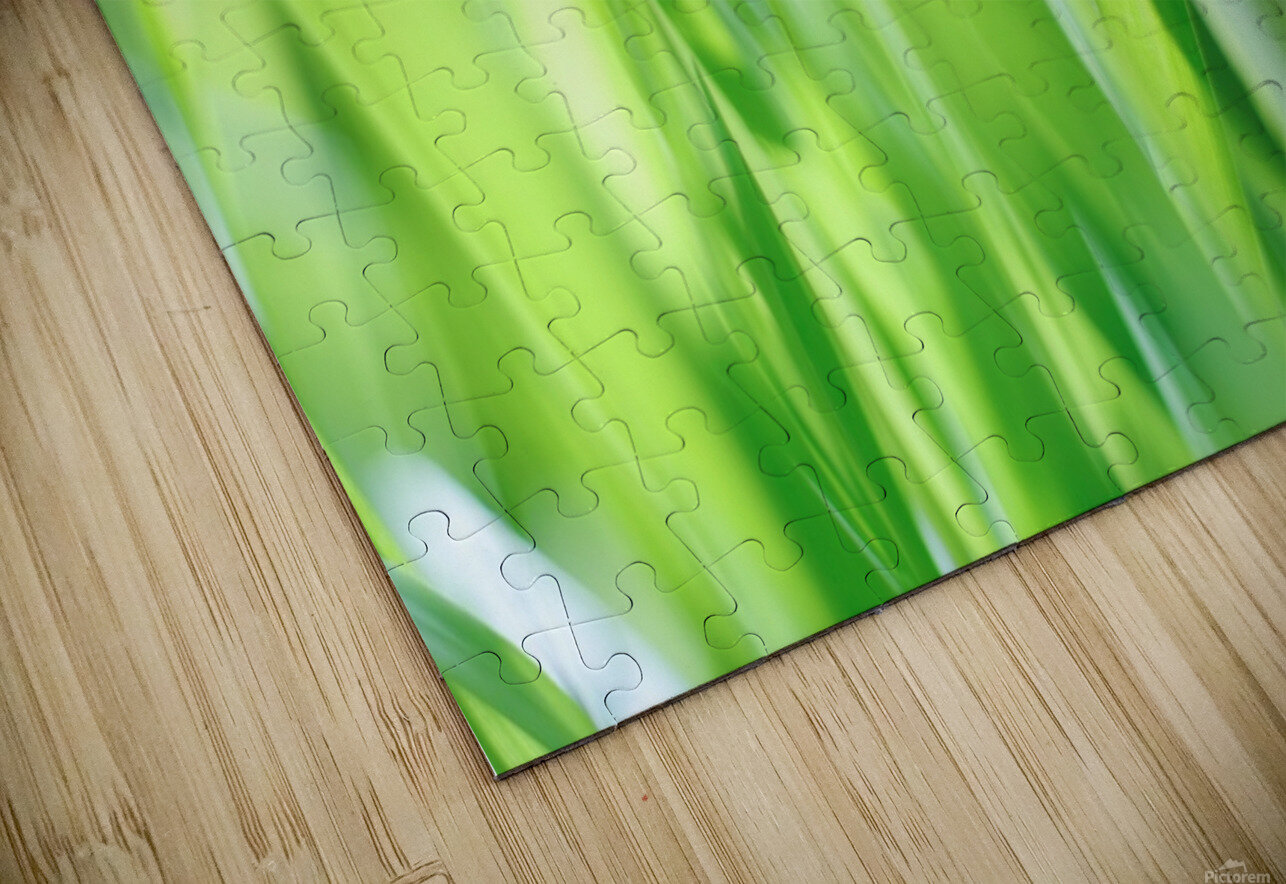 Blueish Green Grass HD Sublimation Metal print