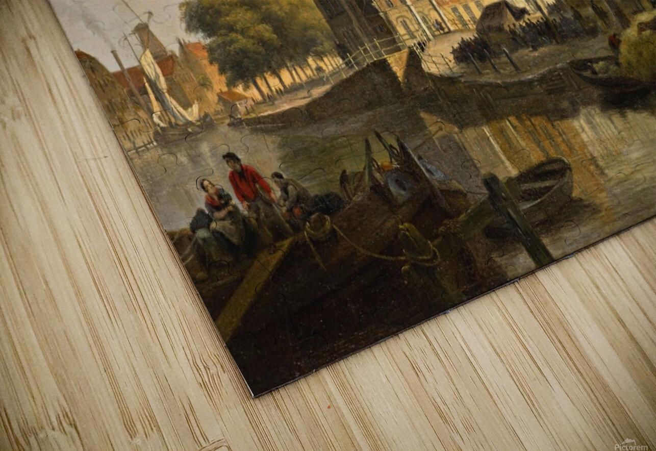 View of a Dutch City HD Sublimation Metal print