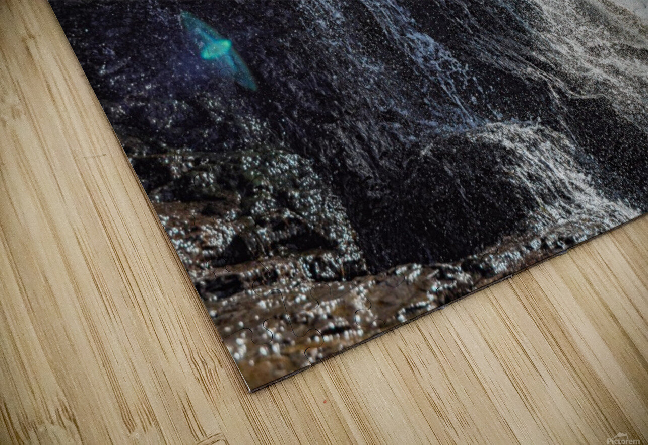 Alamere Falls HD Sublimation Metal print